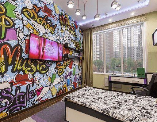 Детская, 2-комнатная евро-квартира в Москве, 78м²