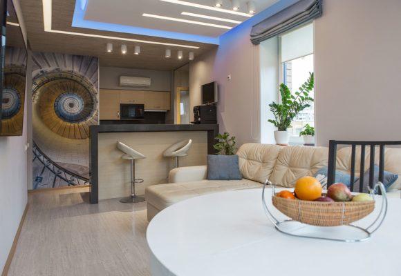 3 комнатная Евро квартира в Москве, 68м²