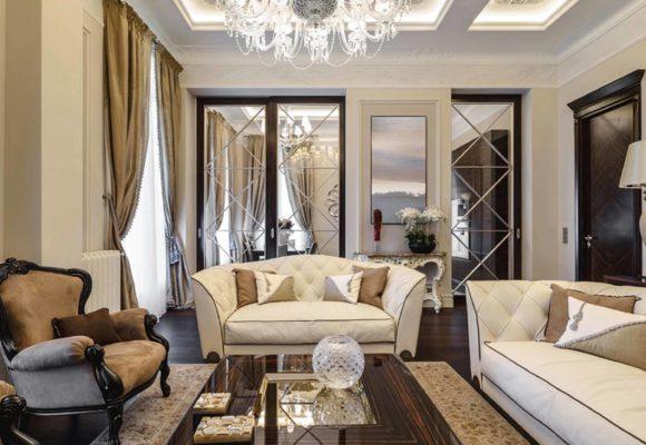 5-ти комнатная квартира в Санкт-Петербурге на Невском проспекте, 164м2